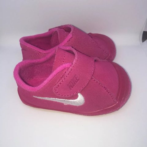 f1fa3bde1d2 Nike Waffle Crib Shoes Baby Girls Just adorable! These Nike - Depop