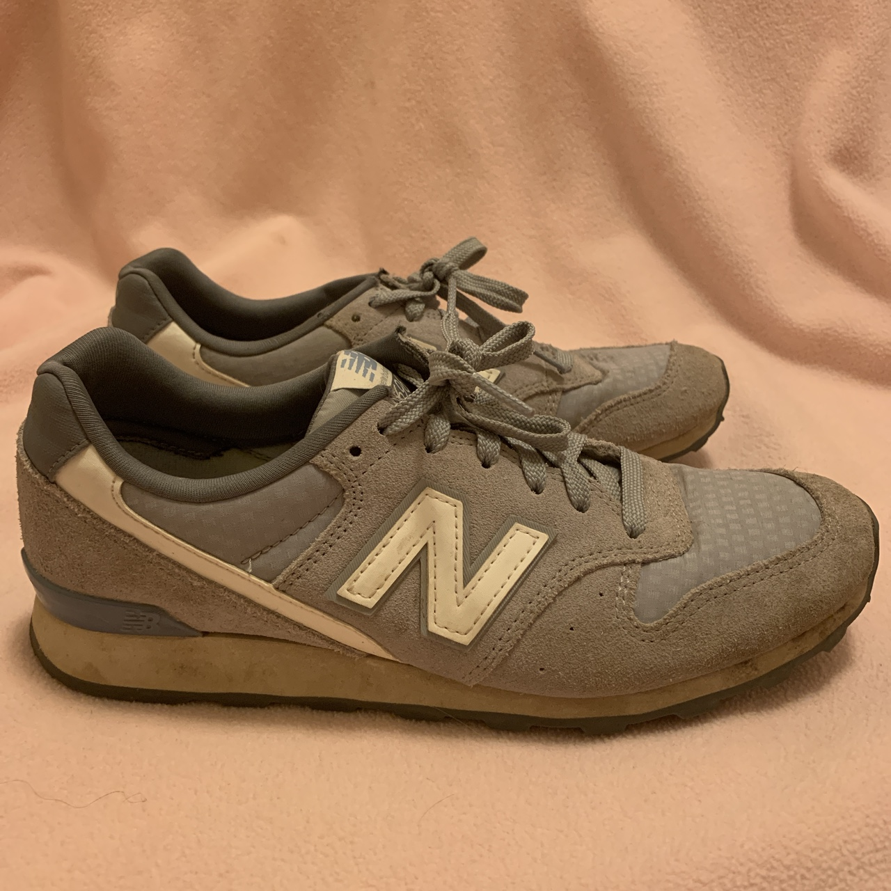 best authentic f3272 1ea1d New Balance 696 sneaker Some scuffing from... - Depop