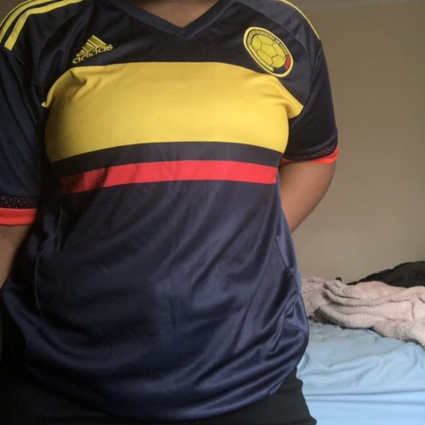 801436413f092 @sydney_adams26. 5 months ago. Rex, United States. Navy blue,red, and  yellow Adidas climacool soccer jersey ...