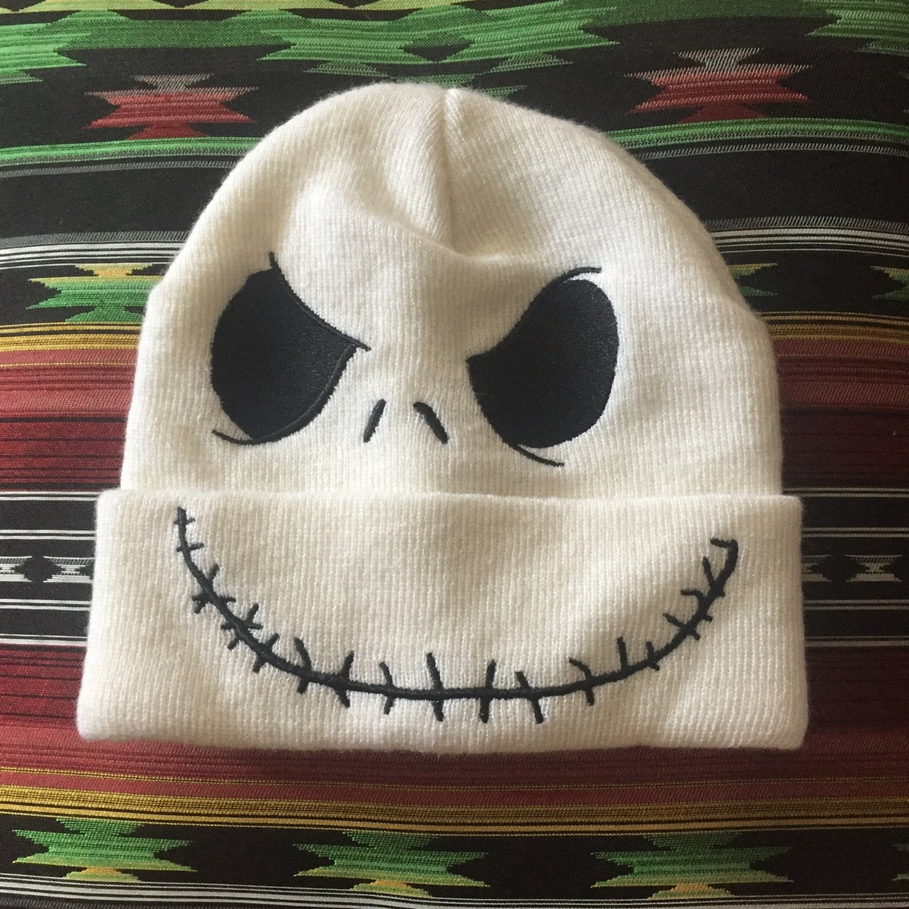 Jack Skellington beanie! - Tim Burton - The nightmare - - - Depop a22e93116e0b