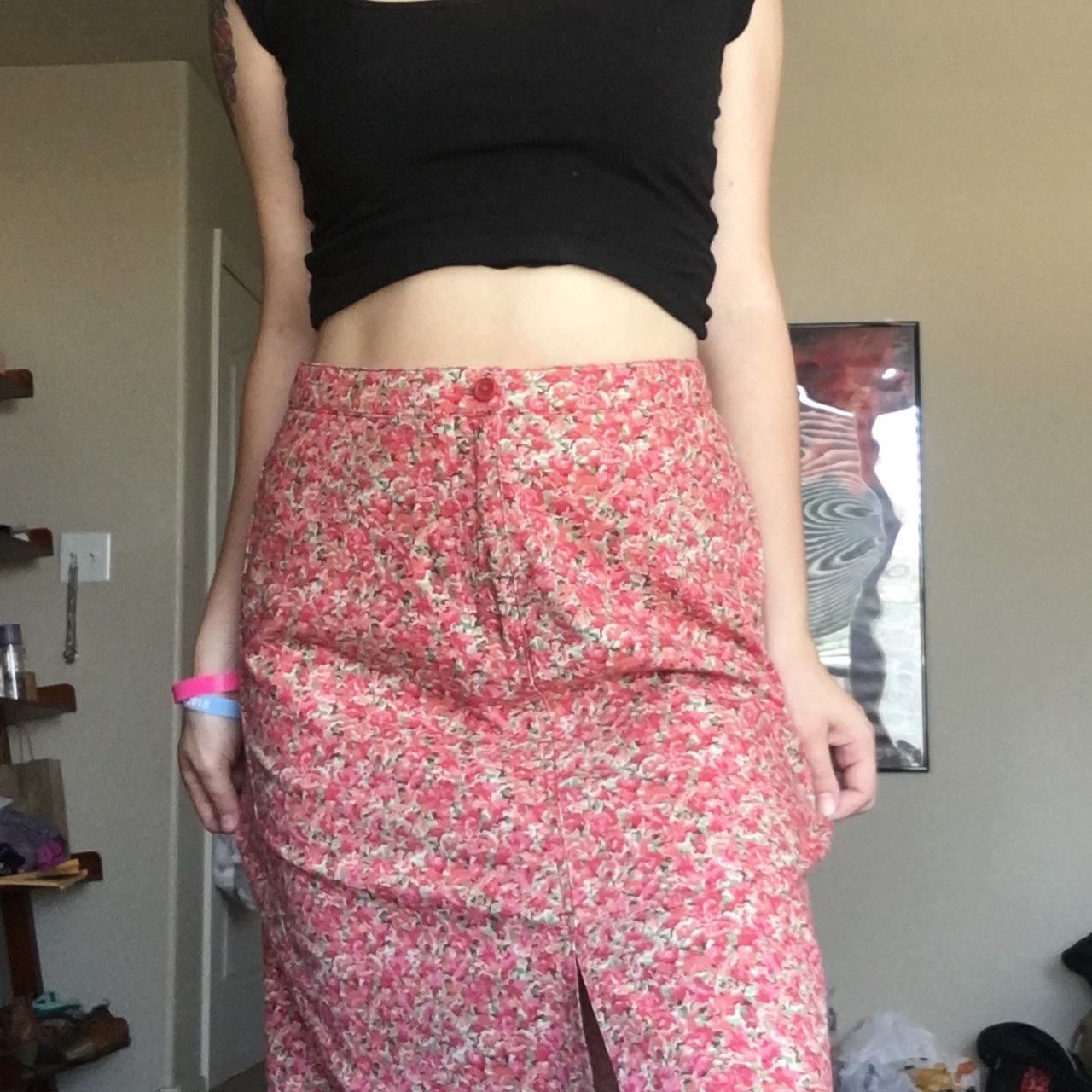 2d3ceb49fd PRICE DROP FROM $15.00!!!!* Adorable floral skirt by Eddie - Depop